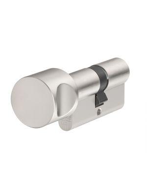 KE60NP Euro Thumbturn Cylinder Nickel Pearl Z30mm / K35mm Box
