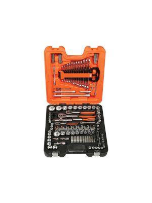 S138 Socket Set of 138 Metric 1/4in 3/8in & 1/2in