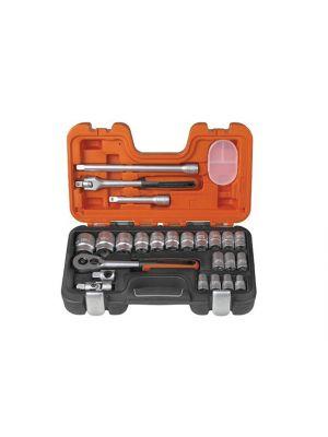 S240 Socket Set of 24 Metric 1/2in Drive