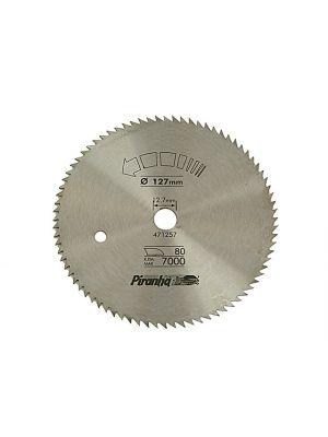 Circular Saw Blade 127 x 12.7mm x 80T Cross Cut