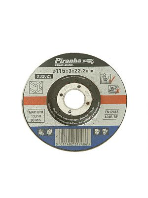 X32075 Proline Stone Cut Off Disc 115mm