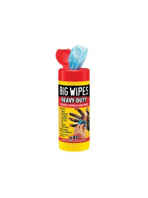 Scrub & Clean Wipes Tub of 40