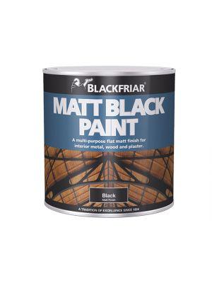 Matt Black Paint 125ml