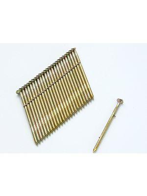3.1 x 90mm 28° Stick Nail Ring Shank Galvanised (2000)