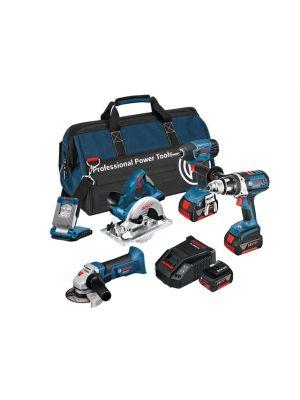 BAG+6RS 6 Piece Cordless Tool Kit 18 Volt 3 x 4.0Ah Li-Ion