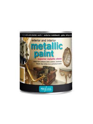 Exterior & Interior Metallic Paint Pewter 500ml