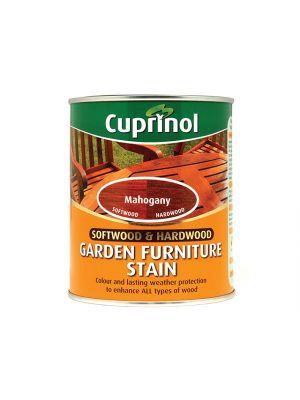 Softwood & Hardwood Garden Furniture Stain Mahogany 750ml