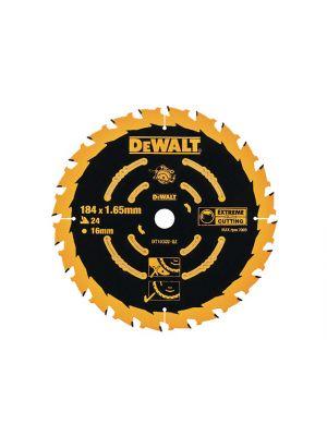 Circular Saw Blade 184 x 16mm x 24T Corded Extreme Framing