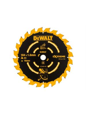 Cordless Mitre Saw Blade For DCS365 184 x 16mm x 24T Coarse