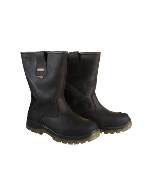 Tungsten S3 Rigger Brown Boots UK 8 Euro 42