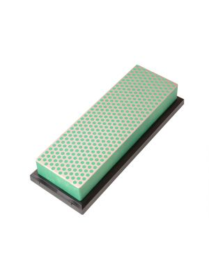 Diamond Whetstone 150mm Plastic Case Green 1200 Grit Extra Fine