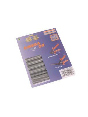 Galvanised Steel Hog Ring Omega 20 (1000)