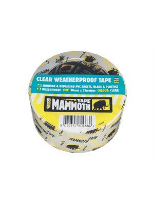 Clear Weatherproof Tape 50mm x 33m