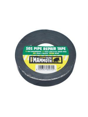 SOS Pipe Repair Tape Black 25mm x 10m