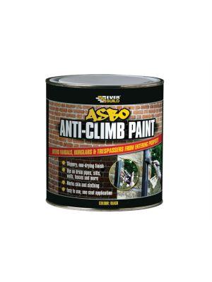 ASBO Anti-Climb Paint Black 1 Litre
