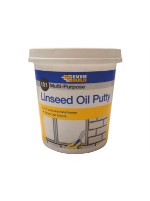 101 Multi-Purpose Linseed Oil Putty Natural 1kg