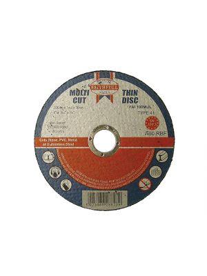Multi-Cut Cutting Discs 100 x 1.0 x 16mm (Pack of 10)