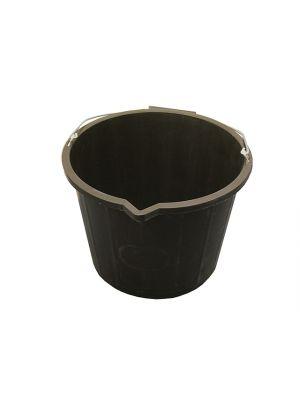 3 Gallon 14 Litre Bucket - Black