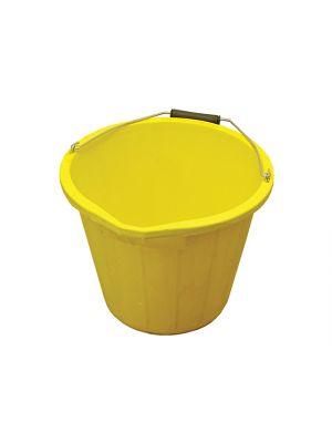 3 Gallon 14 litre Bucket - Yellow