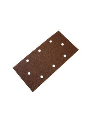 1/3 Sanding Sheet Red B/D Hook & Loop Holed Assorted (Pack of 5)