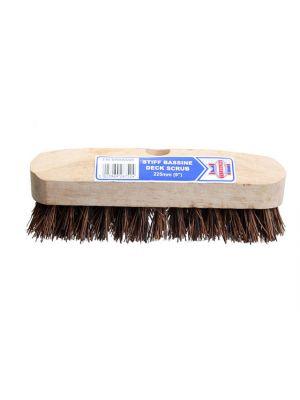 Deck Scrub Stiff Broom Head 225mm (9in)
