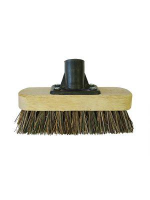 Deck Scrub Broom Head 175mm (7in) Threaded Socket