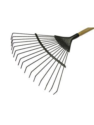 Lawn Rake 16T Carbon Steel Ash Handle