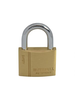 Brass Padlock 50mm 3 Keys