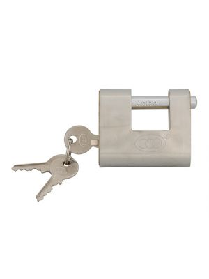 Brass Shutter Padlock 60mm