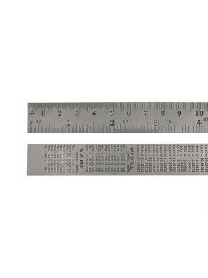 Steel Rule 600mm / 24in x 25mm