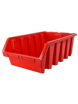 Interlocking Storage Bin Size 5 Red 333 x 500 x 187mm