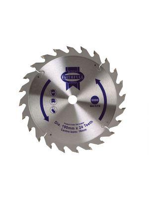 Circular Saw Blade 190 x 16mm x 24T Fast Rip