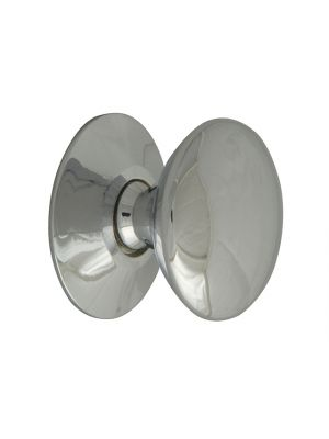 Cupboard Knobs - Victorian Chrome Finish 25mm Pack of 5