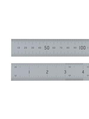 Satin Chrome Rule 300mm / 12in