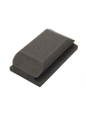 Hand Sanding Block Shaped Black 70 x 125mm