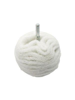 Scruff Ball 75mm / 3in White Non-Scratch