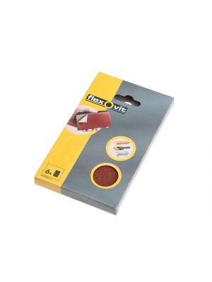 Hook & Loop Sanding Block Refill Kit Medium 80g (6)