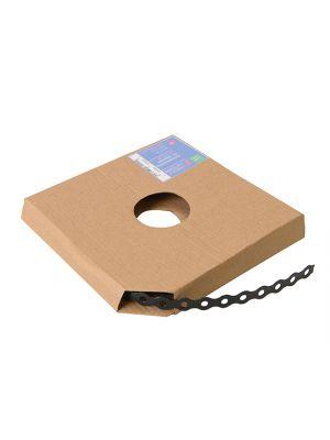Black Plastic Coated Pre-Galvanised Band 17mm x 0.8 x 10m Box 1
