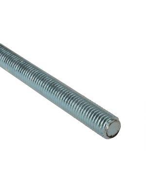 Threaded Rods Zinc Plated M6 x 1m Single