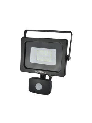 Security Light with PIR 20W 1600 Lumen 240V