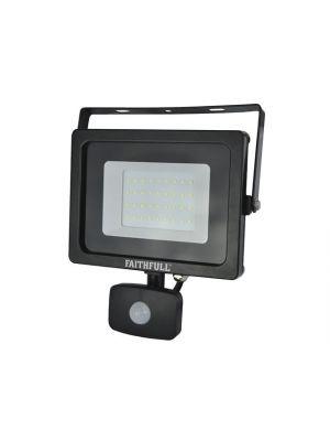 Security Light with PIR 30W 2400 Lumen 240V