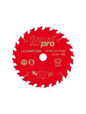 Pro Trim Saw Blade 165 x 1.7 x 20mm x 24T