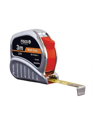 TMC3ME Chrome Tri-Matic Pocket Tape 3m/10ft (Width 13mm)