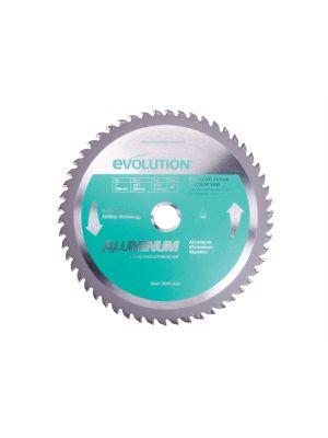 Evolution Aluminium Cutting Circular Saw Blade 180 x 2 x 20mm x 54T
