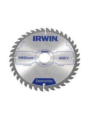 Circular Saw Blade 190x 30mm x 40T ATB