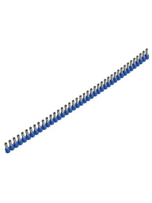 Wire End Sleeves 2.5 x 8mm Blue 400 Piece
