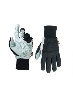 Hybrid-260 Suede Palm Knit Wrist Glove - Medium (Size 9)