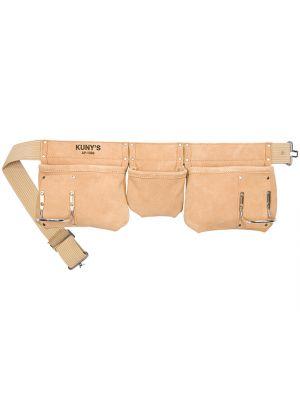 AP-1300 Carpenter's Apron 5 Pocket Suede Leather
