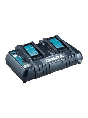 DC18RD Twin Port Multi Voltage Charger