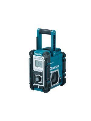 DMR106 Blue Job Site Radio With Bluetooth 240 Volt & Battery Powered Bare Unit